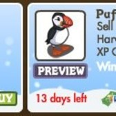 FarmVille Winter Wonderland Animals: Icelandic Horse & Puffin now available