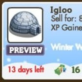 FarmVille Winter Wonderland Building: Bundle up and head into the new Igloo