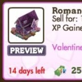 FarmVille Valentine's Day Decorations: Romantic Cottage, Love Gondola, Romantic Picnic & More