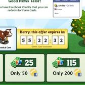 FarmVille: Turn Facebook Credits into Farm Cash, receive Simmental Cow