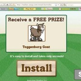 Download FarmVille Game Bar to receive Toggenburg Goat