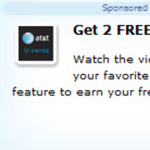 Earn 2 free FarmVille Farm Cash in AT&T U-verse promotion