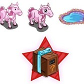 FarmVille Sneak Peek: Valentine Pony, Reflective Heart Pool, and ... Pink Candy Corn?