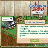Earn 2 FarmVille Farm Cash free from Gnomeo & Juliet promo
