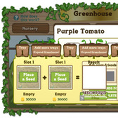 FarmVille Sneak Peek: Greenhouse menu and Seed Pa