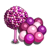 Pink Bubblegum Tree