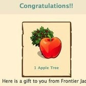 FrontierVille: Earn a free Apple Tree from the FrontierVille fan page