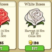 FrontierVille Red, Pink, White Rose Crops now available