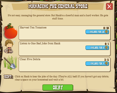 Managing the General Store