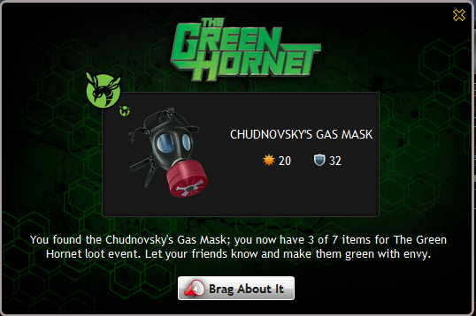 Chudnovsky's Gas Mask