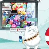 Santa Claw: Use Facebook Connect to play a claw machine from home