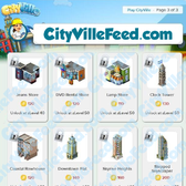 CityVille Sneak Peek: First set of RewardVille items revealed