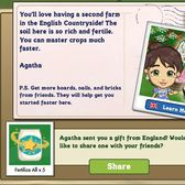 FarmVille English Countryside Delivery: Save your building materials