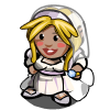 FarmVille gnome Bride Gnome