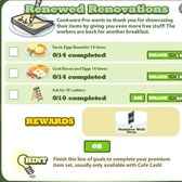 Cafe World Renewed Renovations Goals: Everything you need to