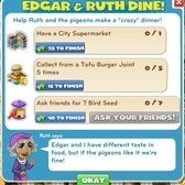 CityVille Edgar & Ruth Dine Quest: Everything you need to know