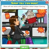 CityVille: Shop Till You Drop with new stores and feature coming soon
