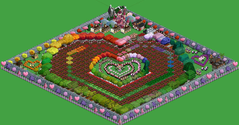 farmville valentines day farm