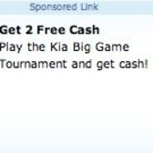 Earn 2 free FarmVille Farm Cash from Kia promotion