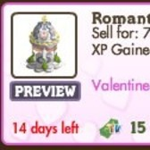 FarmVille Valentine Decorations: Romantic Pavilion, Cupig, Anemone, and More