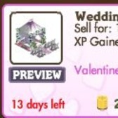 FarmVille Valentine Decorations: Wedding Tent, Groom Gnome, Heart Balloon Arch and more