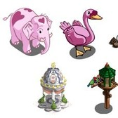FarmVille Valentine Sneak Peek: Heart Elephant, Pink Swan, Romantic Pavilion, and More
