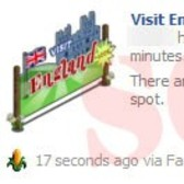 FarmVille scam alert! Beware any 'Visit England' Facebook wall posts