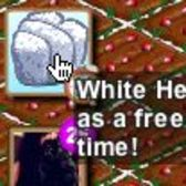 FarmVille giftable white heart hay bales -- going, going...