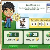 Nab a FarmVille Alpine Goat, turn Facebook Credits into Farm Cash