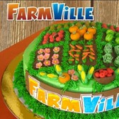 FarmVille cake achieves Level 3 Deliciousness Mastery