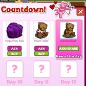 FarmVille Valentine's Countdown Day 6: Caramel Bear
