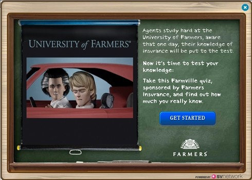 Farmer' Insurance Quiz