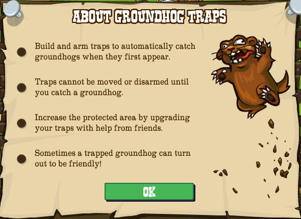 frontierville groundhog trap guide
