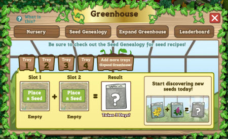 FarmVille Greenhouse Leaderboards