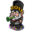 FarmVille gnome New Year Gnome