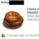 FarmVille scam alert: fake Lucky Penny news feed posts