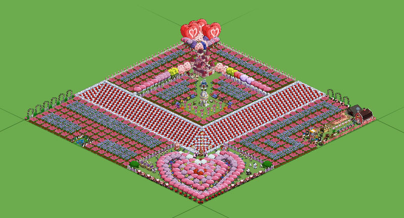 farmville valentines day farm scott