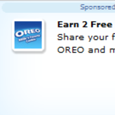 Earn 2 free FarmVille Farm Cash in Oreo promotion