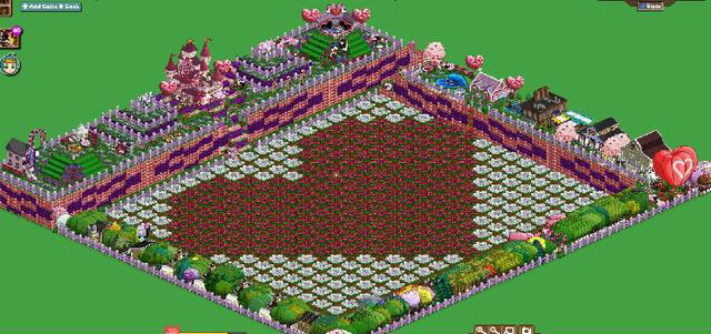 farmville valentine's day farm art tdk