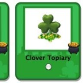 CityVille: Blossoming Clovers &amp; Clover Topiary available as free gifts
