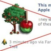 FarmVille Scam Alert: Candy Apple Tree posts are fake
