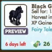 FarmVille: Black Beauty Horse renamed to