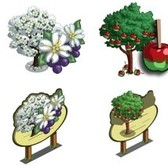 FarmVille Sneak Peek: Dogwood, Candy Apple Tree, Giant Candy Apple Tree