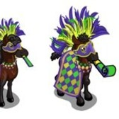FarmVille Mardi Gras Sneak Peek: Carnival Horse &amp; Carnival Foal