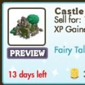 FarmVille Fairy Tale Decorations: Castle Ruin, Black Swan Lake, Enchanted Tree & More