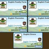 FrontierVille English Countryside: Expand your farm with Surveyors