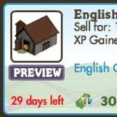 FarmVille LE English Countryside Items: English Rose Arch, English Barn & More