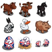 FarmVille English Countryside Sneak Peek: Old English Chicken, Shorthorn Cow & much more