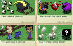 FarmVille English Countryside cheats Sheep Breeding Guide