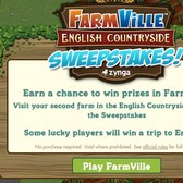FarmVille English Countryside Sweepstakes: Head to England in the real world too!